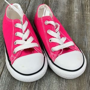 Converse Pink Liw Top Chuck Taylor Sneakers Size 8